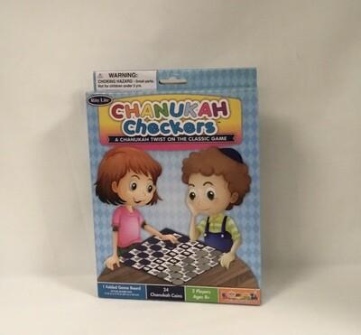 Chanukah Checkers