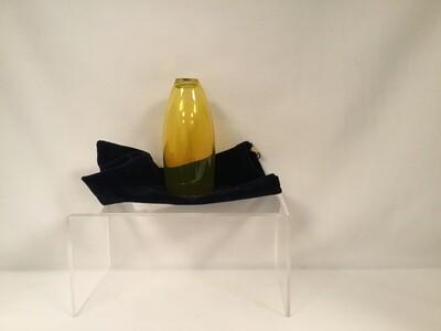 Gold Lustered Glass in Velvet Bag - Wedding