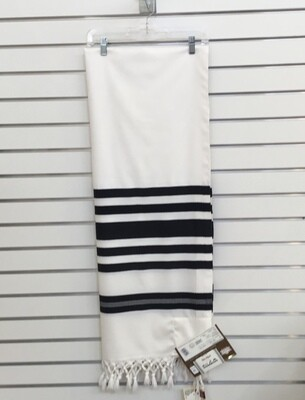 Tallit 100% Turkish Wool 55x76