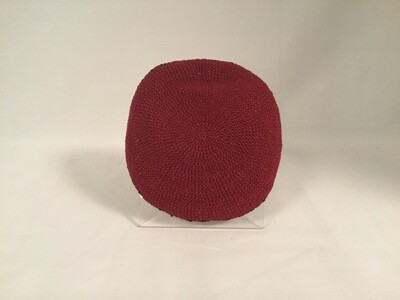 Red Knit Kippah
