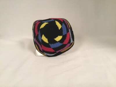 Knit Kippah - Multi Color