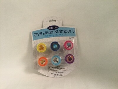 Chanukah Self-Inking Stampers