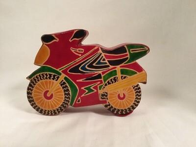 Tzedakah Box - Motocycle
