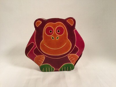 Tzedakah box monkey