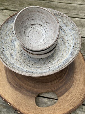 Carmel Ceramica Serve-ware In Truffle