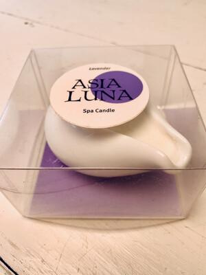 Asia Luna Lavender Spa Candle