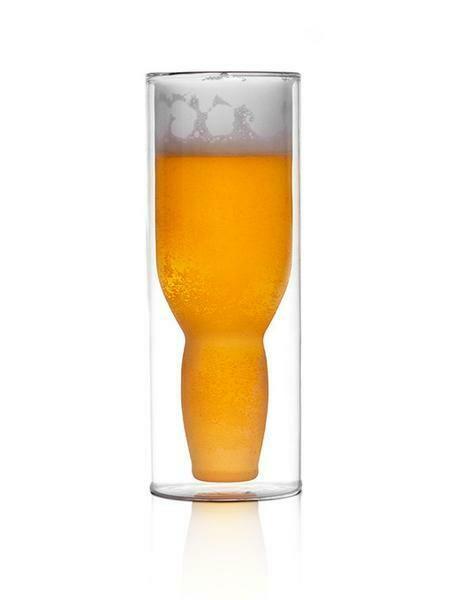 Australian Beer Glass & Bottle Opener Set