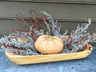 Spalted Maple Trough Bowl
