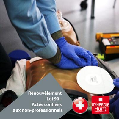 Renouvèlement Loi 90 - Actes confiées aux non-professionnels (en ligne en temps de pandémie)