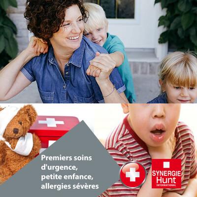 Premiers soins d'urgence, petite enfance, allergies sévères