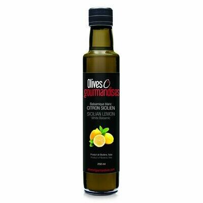 Balsamique blanc citron sicilien