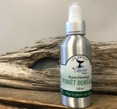 Brume d'ambiance - forêt boréal