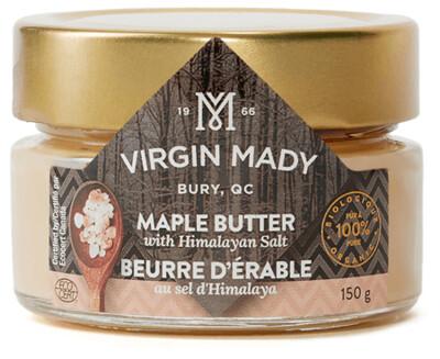 Beurre d'érable biologique 150 g - Sel d'Hymalaya