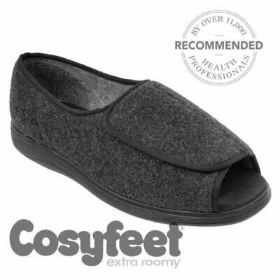 Cosyfeet Jonny Charcoal House Shoe