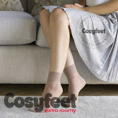 Cosyfeet Ladies Ankle Highs