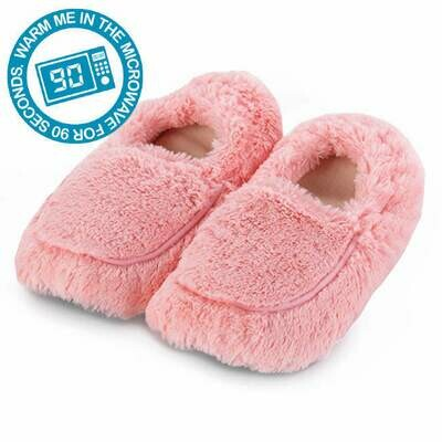 Microwaveable Slippers Pink