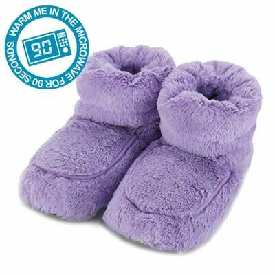 Microwaveable Bootees Lilac