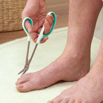 Long Handled Toenail Scissors