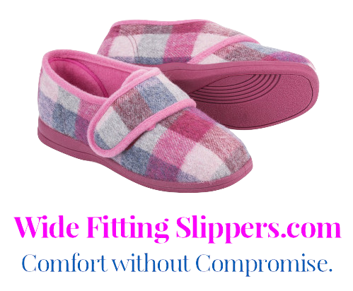 Wide Fitting Slippers | Comfort without Compromise