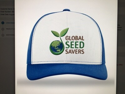 GSS Hat (Blue/White)