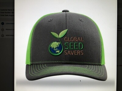 GSS Hat (Grey/Green)