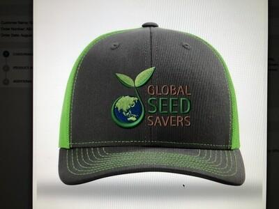 GSS Hat (Grey/Green)