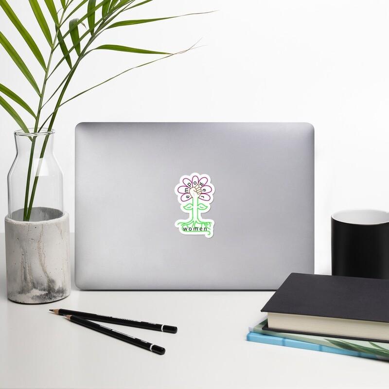 Flower Bubble-free stickers