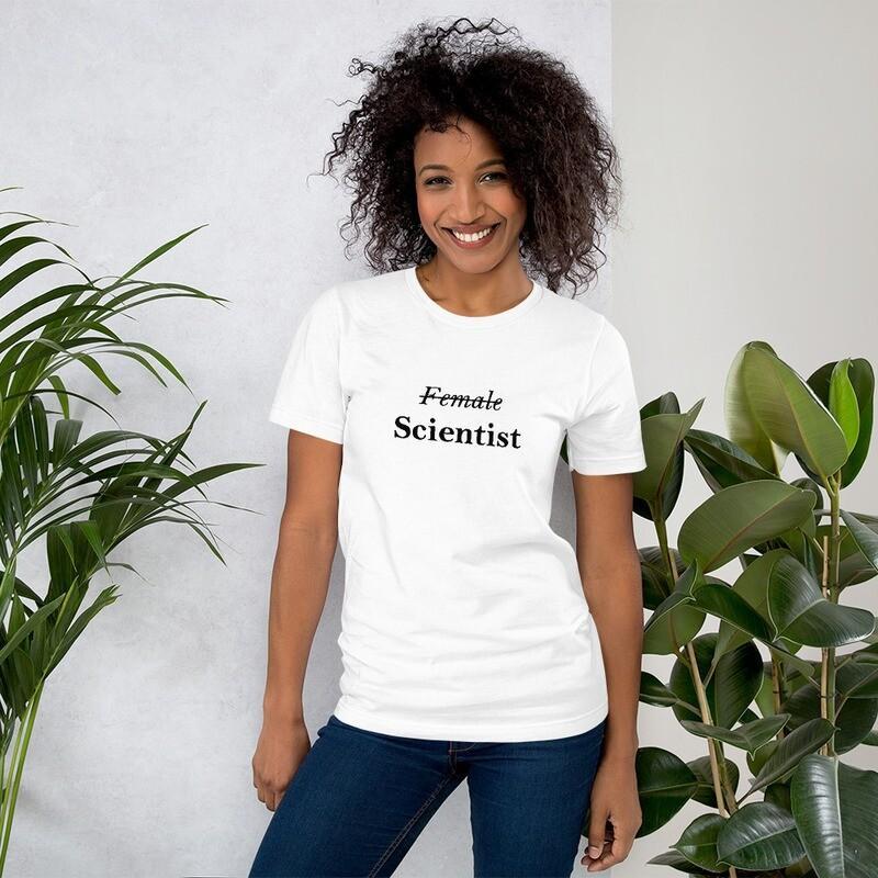 Short-Sleeve Unisex Scientist  T-Shirt