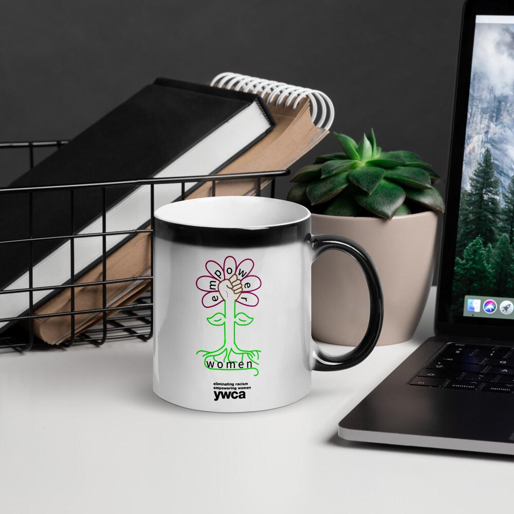 Glossy Flower Magic Mug
