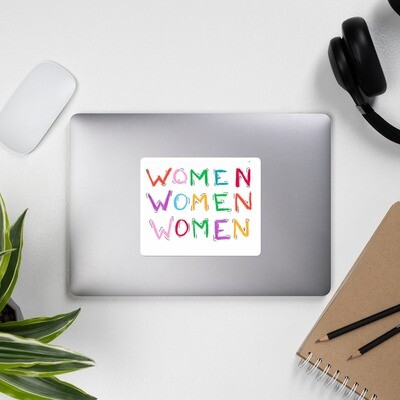 Women Bubble-free stickers
