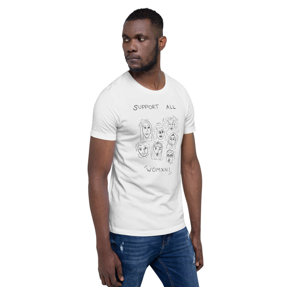 Support All Women Short-Sleeve Unisex T-Shirt