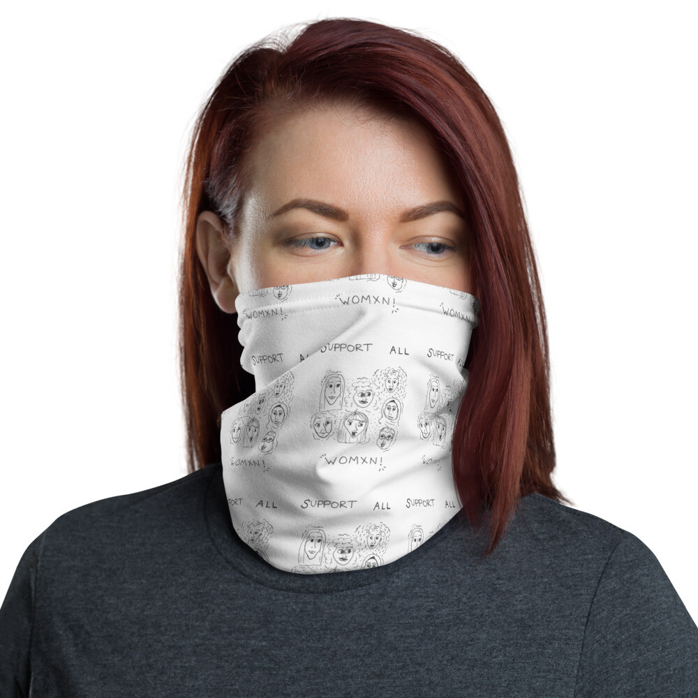 Support All Women Neck Gaiter