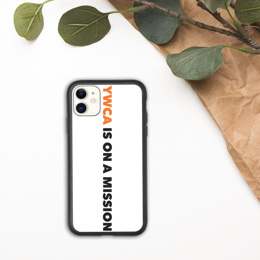Logo Biodegradable iPhone Case