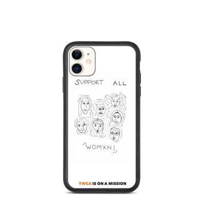 Support All Women Biodegradable iPhone Case