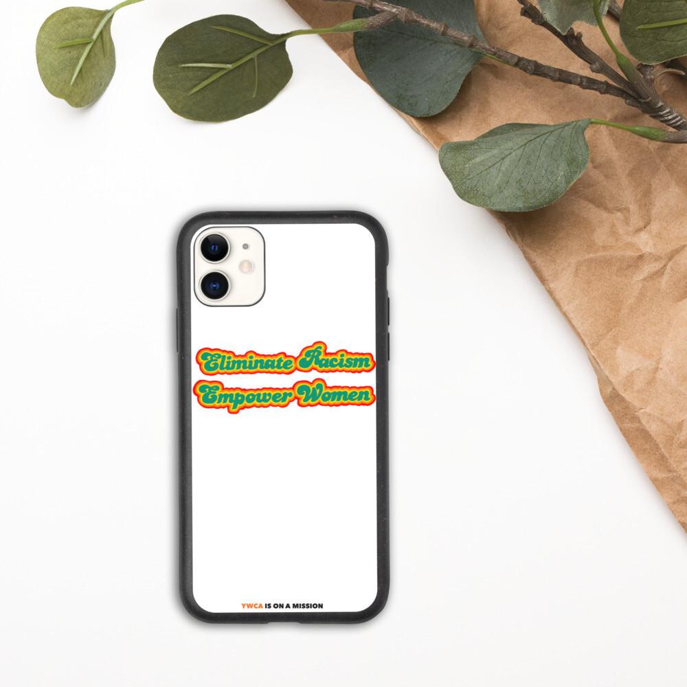 Retro Mission Biodegradable iPhone Case