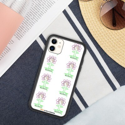 Flower Biodegradable iPhone Case