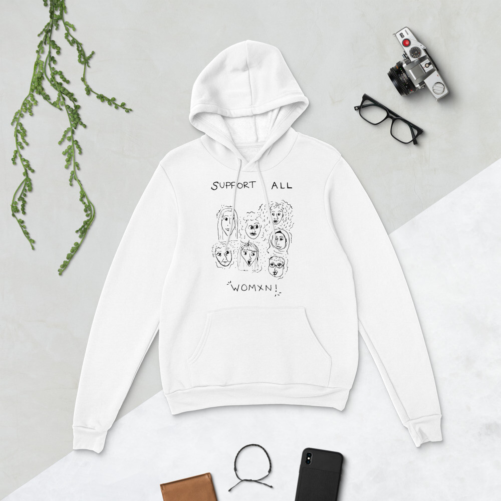 Support All Women Unisex hoodie