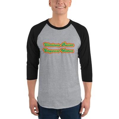 Retro Mission 3/4 sleeve raglan shirt