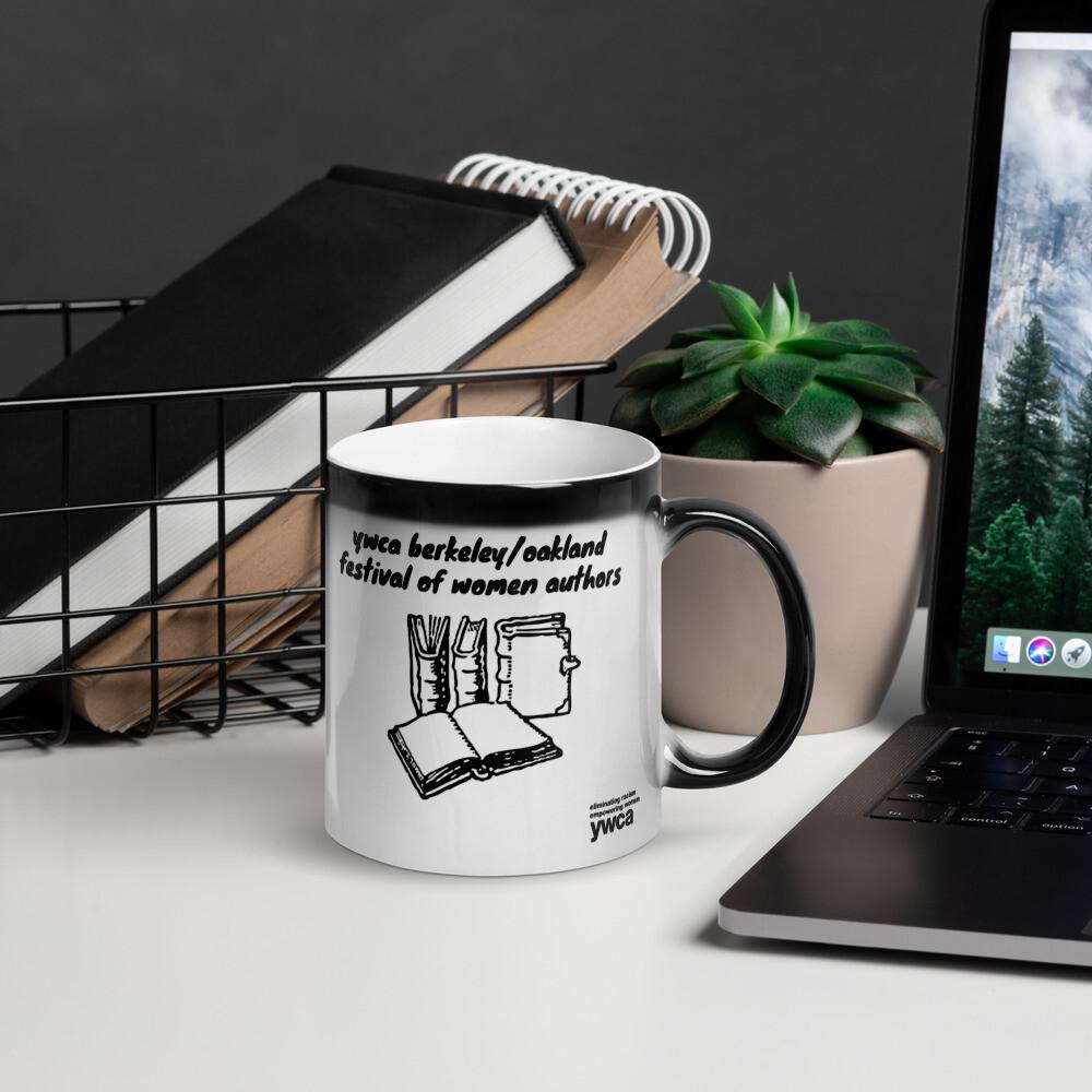 Festival of Women Authors Glossy Magic Mug copy