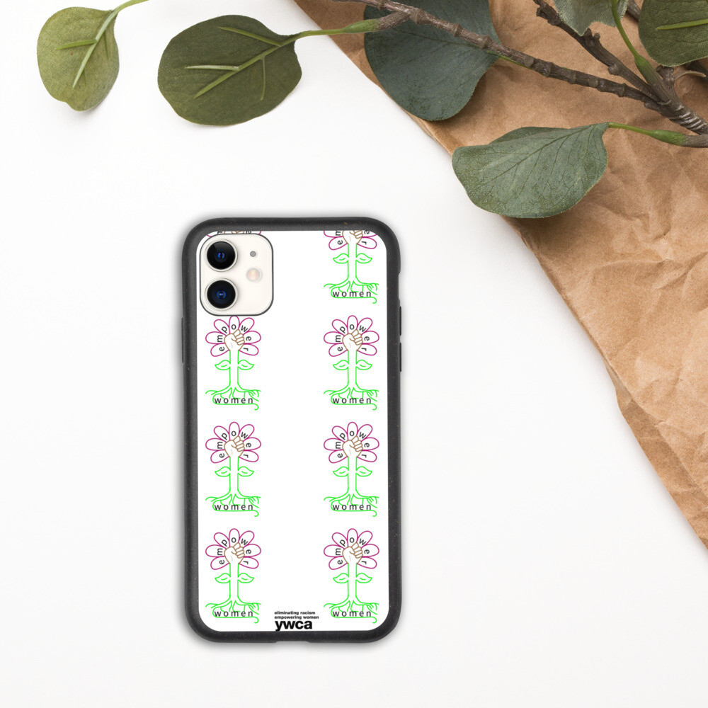 Flower Biodegradable phone case