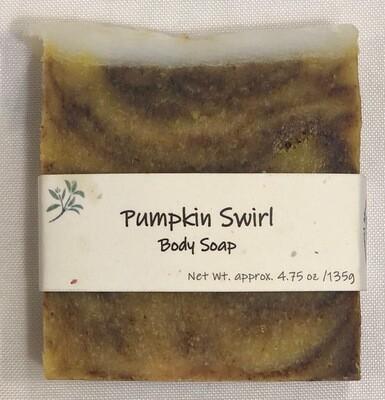Pumpkin Swirl Soap