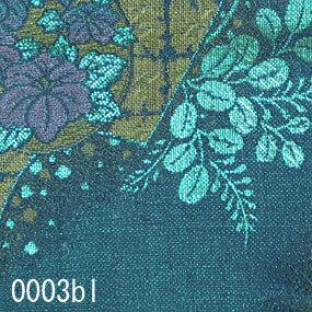 Japanese woven fabric Kinran  0003bl