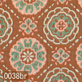 Japanese woven fabric Kinran  0038br