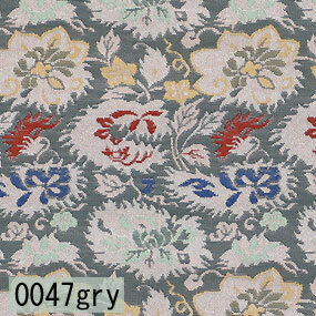 Japanese woven fabric Kinran  0047gry