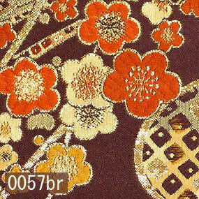 Japanese woven fabric Kinran  0057br