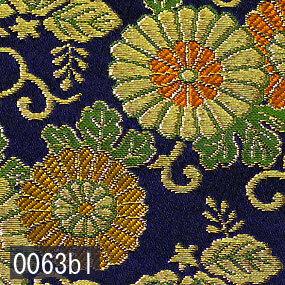 Japanese woven fabric Kinran  0063bl