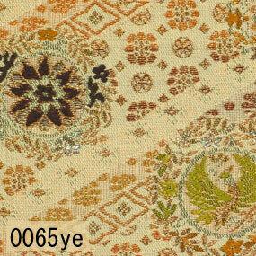 Japanese woven fabric Kinran  0065ye