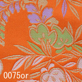 Japanese woven fabric Kinran  0075or