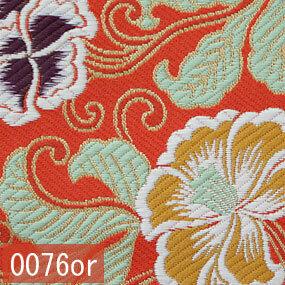 Japanese woven fabric Kinran  0076or