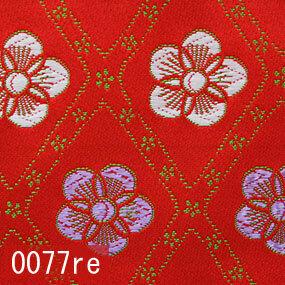 Japanese woven fabric Kinran  0077re